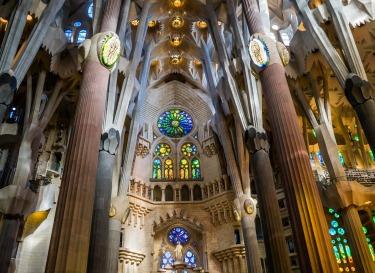 Sagrada Familia Window